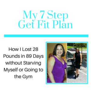 My 7 Step Get Fit Plan(1)