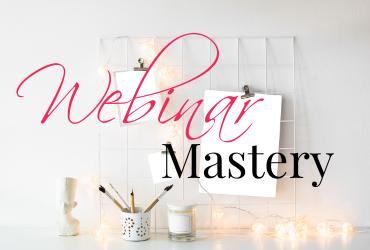 Webinar Mastery Course Image