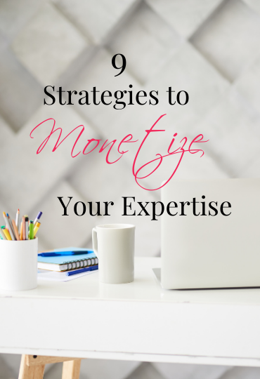 Monetize Your Expertise